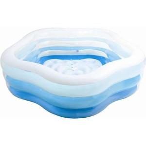 Bazén INTEX nafukovací  PĚTIUHELNÍK 185x180x53