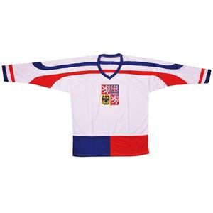 Hokejový dres ČR 2, bílý, vel. XL