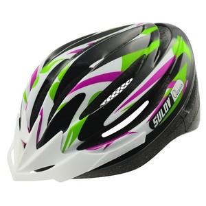 Cyklo přilba SULOV ALESSIA, fialovo-zelená, L 58-61cm