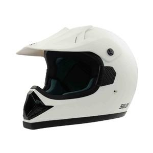 Motocyklová přilba SULOV MADMAN, matná bílá, vel. M
