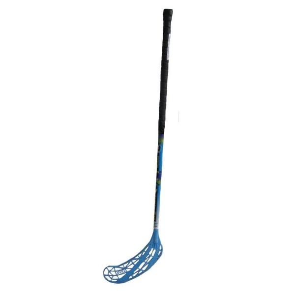 Florbal hůl WARRIOR IFF UNIHOC modrá délka 100 cm levá
