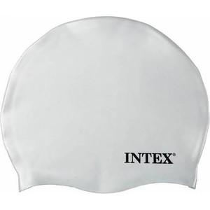 Koupací čepice Intex Silicon bílá