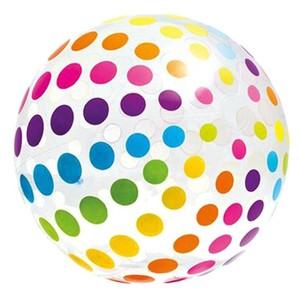 Nafukovací plážový míč barevný 107cm