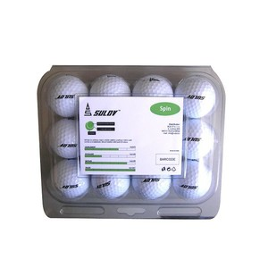 Sada golfových míčků SULOV SPIN, 12ks, blister