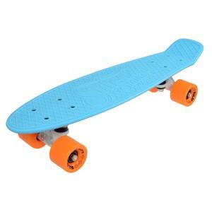 """Penny board 22"""" SULOV VIA DOLCE sv.modrý-mat.oranžový"""
