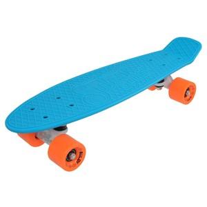 "Penny board 22"" SULOV NEON SPEEDWAY sv.modrý-oranžový"