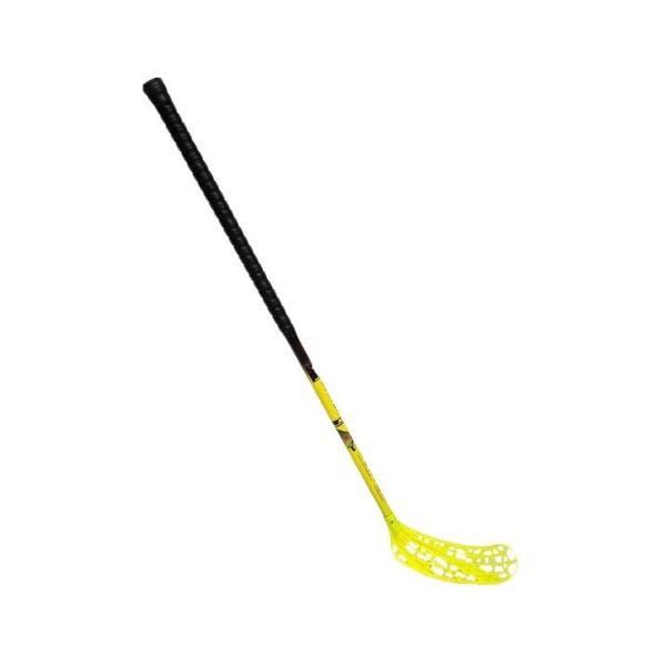 Florbal hůl HUNTER IFF 85 CM pravá SPORT 2020 černo/žlutá
