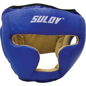 Chránič hlavy uzavřený SULOV, kožený, vel. M, modrý