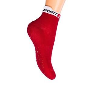 GOFIT, Protiskluzové ponožky, vel. 35-37, červené