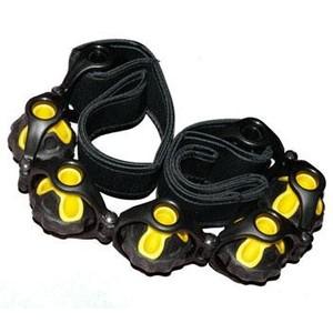 SEDCO, Masážní pás s poutky RS11, 110 cm žluto/černý