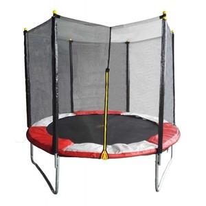 Trampolina FIT CENTER 366 cm + bezpečnostní síť + žebřík