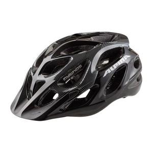 ALPINA Mythos 2.0 - cyklistická přilba, 57-62cm - Black-White Lines (57-62cm)