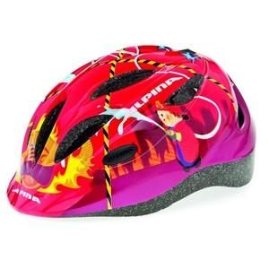ALPINA Gamma 2.0 - Cyklistická přilba, 46-51cm - Red Firefighter (46-51cm)