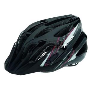 ALPINA FB Junior 2.0 Flash - Cyklistická přilba, 50-55cm - Black-White-Red (50-55cm)