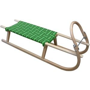 Acra sáně 110cm dřevěné A2041 zelené