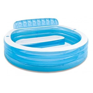 Bazén INTEX nafukovací FAMILY CENTER velikost 224x216x76cm modro/bílý