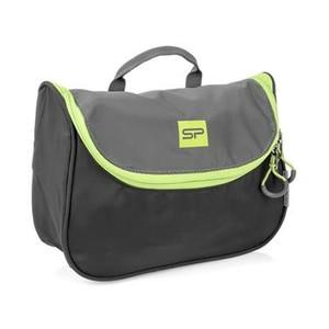 Spokey RESORT Kosmetická cestovní taška, černo-zelená
