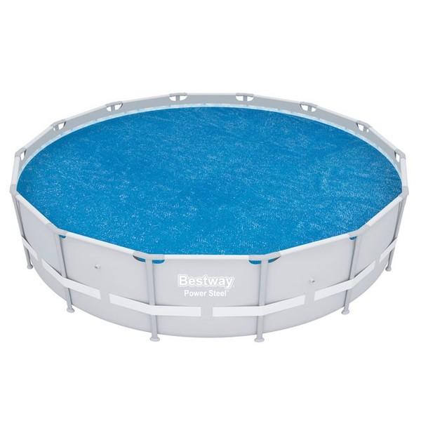 Solární plachta na bazén 427cm