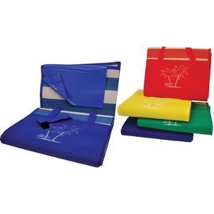 Plážová podložka CALTER - taška, plastová, modrá