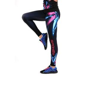 FARFALLA, fitness dlouhé legíny, barevné