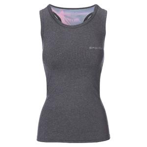 MODO, fitness top, šedo-růžový