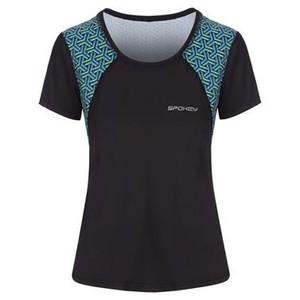 RAIN, fitness triko/T-shirt, krátký rukáv, černé