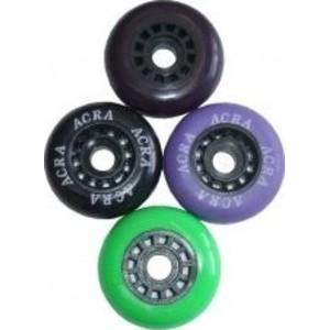 ACRA Inline Kolečka náhradní ke kolečkovým bruslím - 70 x 24 mm