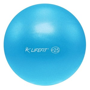 Lopta overball LIFEFIT 25cm, svetlo modra
