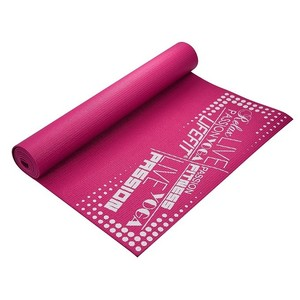Gymnastická podložka LIFEFIT SLIMFIT, 173x61x0,4cm, světle růžová