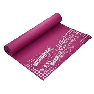 Gymnastická podložka LIFEFIT SLIMFIT, 173x61x0,4cm, bordó