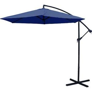 Slunečník s bočním ramenem BANAN 3m, modrý