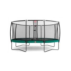 BERG  trampolína  Grand Champion Regular 350 zelená  + Bezpečnostní síť Deluxe