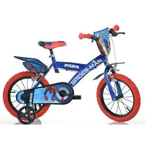 "ACRA Dino SPIDERMAN 14 ""2017 detský bicykel"