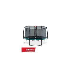 BERG  trampolína Elite zelená  380 + Bezpečnostní síť Deluxe