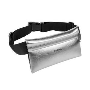Spokey HIPS BAG Sportovní ledvinka stříbrná