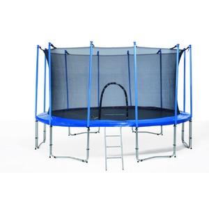 Trampolína 427 cm s bezpečnostní sítí EURO FIT modrá