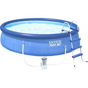 Bazén Intex Easy 457x122 cm SET s filtráciou