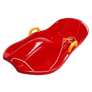 Bob plastový DELUXE, červený