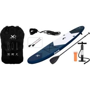 Paddleboard XQ MAX SUP 305 - Tmavě modrý set