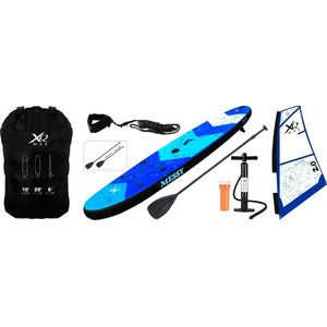 Paddleboard XQ MAX SUP 305 WINDSURF SET