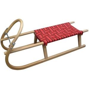 Saně dřevěné popruh 110 cm