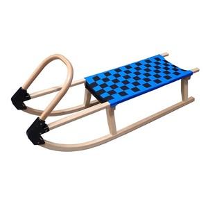 Acra sáně 110cm dřevěné 05-A2041 - modré