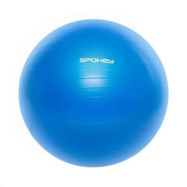 Spokey FITBALL III Gymnastický míč 75 cm včetně pumpičky, modrý