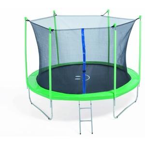 FIT-CENTER Trampolína 305 cm s bezpečnostnou sieťou + rebrík