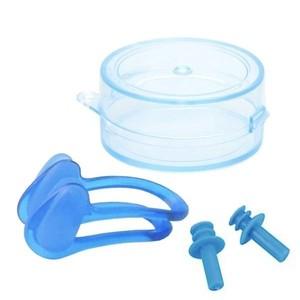 SET pre plavcov - špunty do uší + klapka na nos Escubia 71010