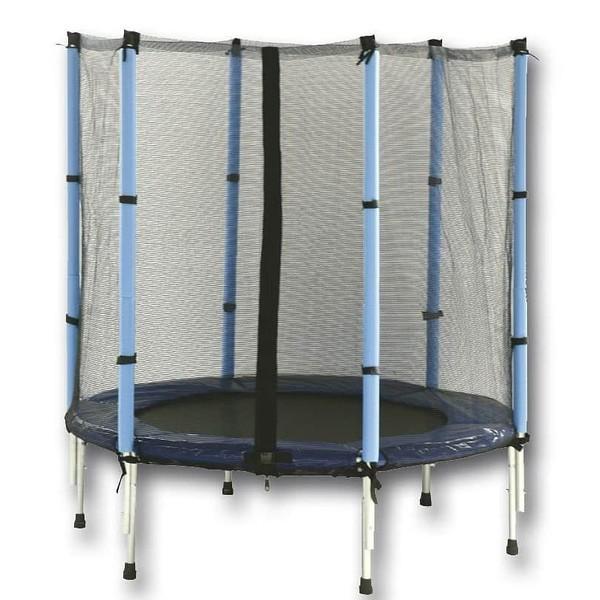 Dětská skákací trampolína SPARTAN 140 cm s ochrannou sítí