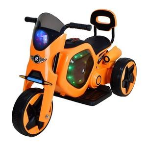 Elektrická detská trojkolka RACCEWAY, oranžová