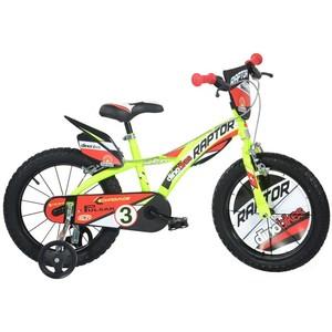 ACRA detský bicykel 163GLN žltý 16