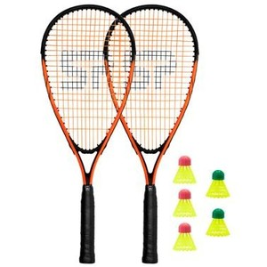 Spokey Spike Sada na speed badminton - 2 x raketa, 5 x loptička, obal