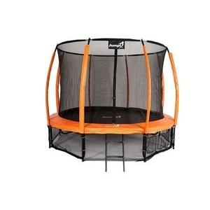 Jumpi zahradní trampolína Maxy comfort plus s vnitřní sítí 374cm/12FT oranžová